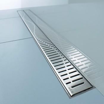 Решетка для трапа ACO ShowerDrain C-line 785 мм (408558) волна
