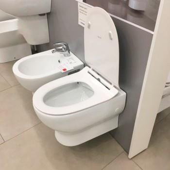 Подвесной безободковый унитаз Devit FRESH (3120121) быстросъемное сиденье soft close