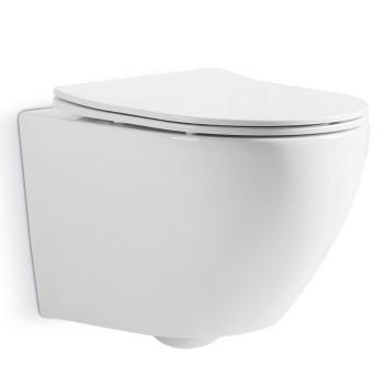 Подвесной безободковый унитаз Devit UNIVERSAL (3020162) быстросъемное сиденье soft close