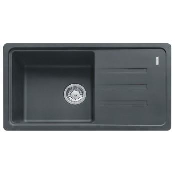 Кухонная мойка Franke BSG 611-78, графит (114.0375.040)