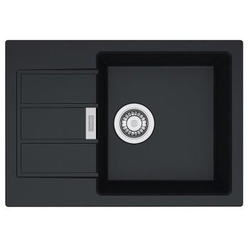 Кухонная мойка Franke SID 611-62 Slim, черный (114.0497.937)