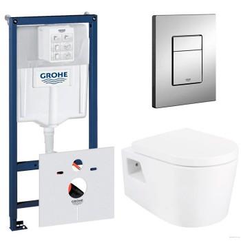 Система инсталляции Grohe (38772001) с подвесным унитазом Primera GRAND (8220022)