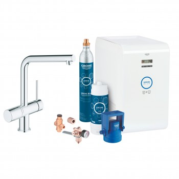 Комплект Grohe Blue Minta Chilled and Sparkling (31347002)