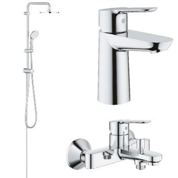 Набор смесителей для ванны Grohe BauEdge (12336TS)