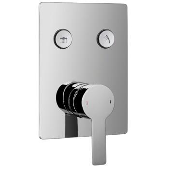 Смеситель для душа скрытого монтажа Imprese Smart Click (ZMK101901201) 2 потребителя