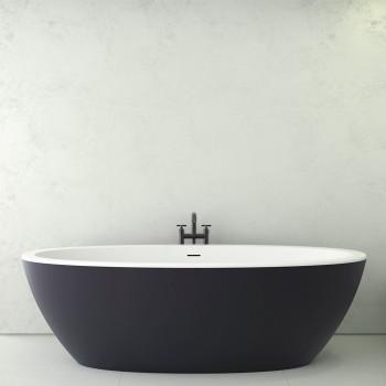 Ванна акриловая Knief Loom XS 170x85 слив/перелив Slot overflow (0100258EBW+010009106SWM)