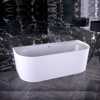 Ванна акриловая Knief Wall 180x80 с сифоном (0100-231-06)